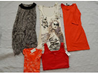 Tunic dresses and brand new tops