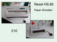 Rexel HS.85 Paper Shredder