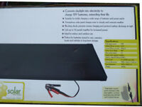 15 Watt Amorphous Solar Panel Briefcase £40! Charges 12V Batteries In Cars Caravans Boats Camping