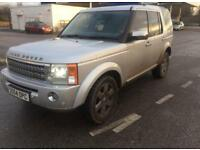 2005 54reg Land Rover Discovery 3 HSE 2.7 tdv6 Silver Top Spec 7 Seater Automatic DVD