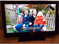 """Sony KDL40V3000 40"""" FULL HD LCD TV with Freeview tuner. SECOND HAND, SOLD AS SEEN"""