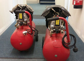 Standard Power 240 V 10 amp 115 PSI 185 Litre Air Compressors x2