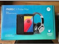 Moto C & Head Phone Set