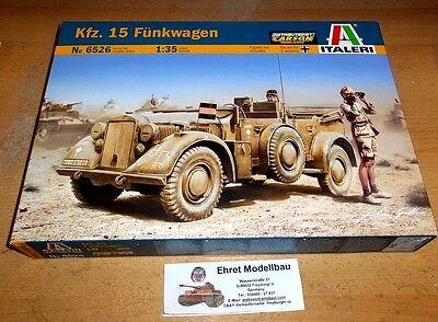 WWII german   Kfz. 15 Funkwagen Afrika Korps in  1:35 Italeri 6526 Neu