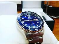 Orient Blue Mako II Automatic Dive Watch