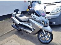 PIAGGIO XEVO 125 - EXCELLENT CONDITION - 1 careful lady owner from new. Very low mileage & use.