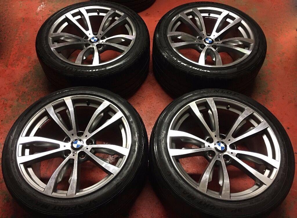 20 Quot Genuine Bmw X5 F15 469m Alloy Wheels Tyres M Sport X6