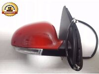 NEW VW Golf Mk5 04-09 DRIVER Electric Wing Door Mirror PAINT Tornado red - LY3D
