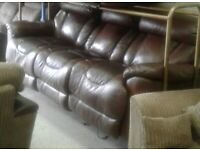 Lazy boy power recliner 3 seater