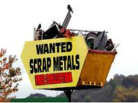 Free Scrap Metal Colection