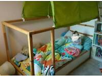Ikea Kura mid-sleeper childs bed