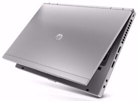 High Spec HP Business Laptop 4x2.7GHZ Core i7, 8GB RAM, 5GB Graphics with 1GB Dedicated Radeon GPU