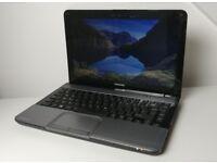 """TOSHIBA Satellite L830, 13.3"""" , i3-2375M, 4GB RAM, 500GB HDD, Win 10 Pro"""