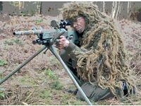 Combat Sniper Airsoft Experience days, military,