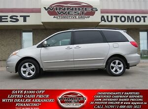 2006 Toyota Sienna ALL WHEEL DRIVE LIMITED, LOW LOW K'S, HEATED