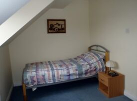 Furnished & secured bedroom & private bathroom available for renting in a town house by Exeter Quay