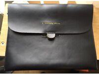Leather iPad Holdall