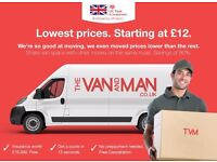 Cheapest Van And Man flat prices from £12. A UK Govt. backed London-wide removals enterprise.