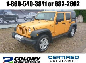 2012 Jeep WRANGLER UNLIMITED Sahara, Leather, Removable Soft Top