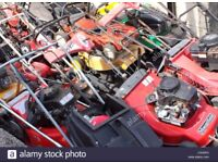 Wanted... broken Spares or Repair Lawnmowers Strimmers Ect. Read Description !