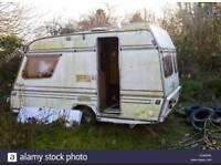 Cheap fixer upper caravan