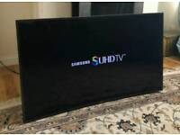 55in Samsung Curved 4K SUHD 3D Smart TV Wi-Fi Freeview HD & FreeSat HD [NO STAND]