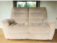 LAZY BOY 2 seater electric fabric recliner sofa DELIVERY INCLUDED