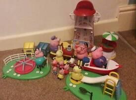 Peppa pig toy bundle