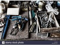 ......WANTED.. for FREE..Any old Hardware items, like spanners, hammers, nails, screws, pliers, etc