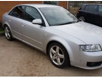 Audi, A4, Saloon, 2004, Manual, 1896 (cc), 4 doors