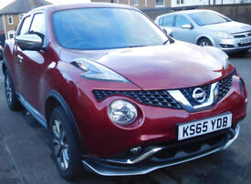Nissan Juke 1.5 dCi Tekna,SAT NAV,HEATED LEATHER SEATS,360 DEGREE CAMERA,£1000 of accessories fitted
