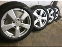 """16"""" Mini Cooper countryman clubman bmw alloys winter tyres"""