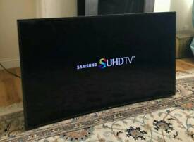 55in Curved Samsung SUHD Nano Crystal Smart 3D LED TV [NO STAND]
