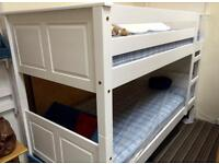 3ft brand new bunk bed flat packed with Or Without mattresses