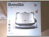 Breville VST026 4 Slice Grill / Panini sandwich Maker - 2KW