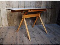 Frank Guille iconic 1950s design classic table kitchen drop-leaf modernist mid century mod gplanera