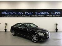 MERCEDES C-CLASS C200 CDI BLUEEFFICIENCY SPORT (black) 2010