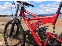 Silverfox slither mountain bike-near perfect condition- only been used a few times