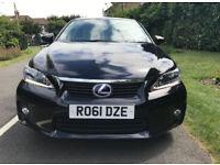 11 Lexus CT 200H 1.8 SE-L Premier £0 Road Tax
