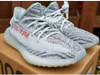 YEEZY BOOST 350 V2 BLUE TINT UK9**NEW WITH BOX AND TAGS**