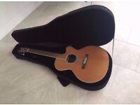 Aria ASP-100CE Electro Acoustic Guitar + Hardshell Case