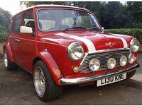 classic mini sprite, 1994, red, 1275cc