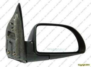 Door Mirror Power Passenger Side Textured Chevrolet Equinox 2005-2009