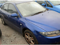 2005 - Mazda 6 - Petrol - BREAKING for SPARE PARTS.