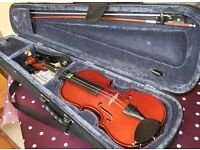 3/4 sized violin for child (learner)