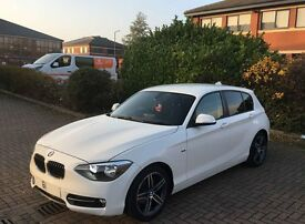 61 BMW 1 Series 118d 5dr Sport Step Auto White (£30 Tax)