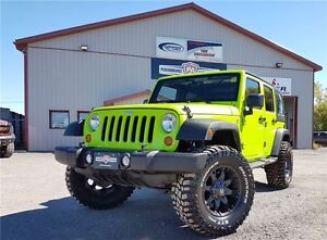 2013 Jeep WRANGLER UNLIMITED SPORT NEW LIFT WHEEL/TIRE (5) PACKA