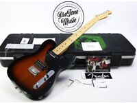 Fender USA Telebration Mahogany Telecaster Ltd Edition Two Tone Sunburst & Fender Case