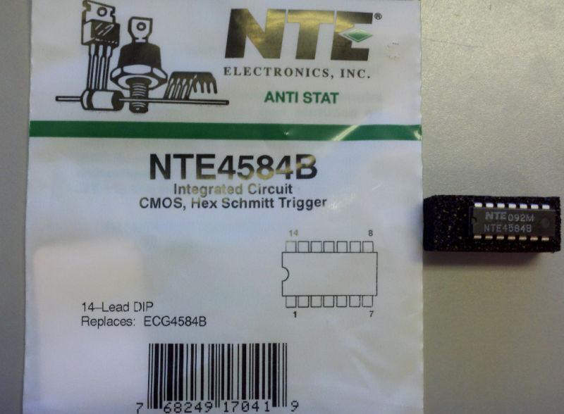 NTE NTE4584B IC-CMOS HEXSCHMIT TRIGGER