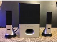 Altec Lansing VS4221 2.1 Speaker System Music & Gaming System with Remote